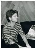 Mark at Mandrill Studios, 1985